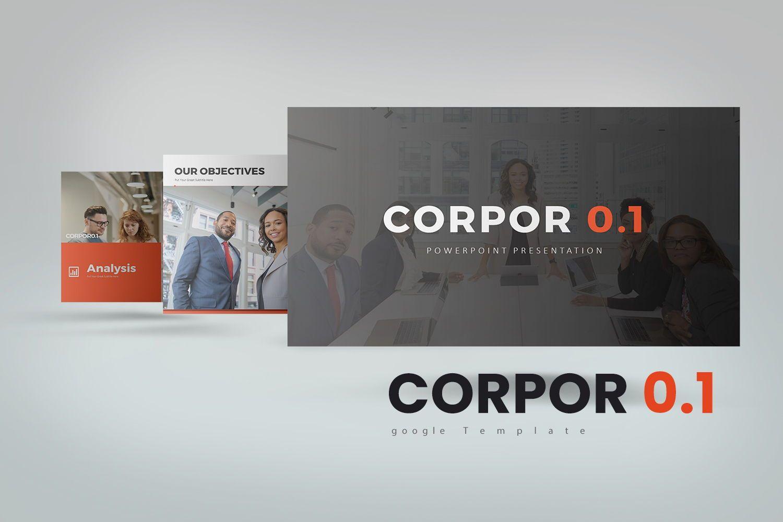 Corpor 0 1 Google Slide Templates, 07966, Business Models — PoweredTemplate.com