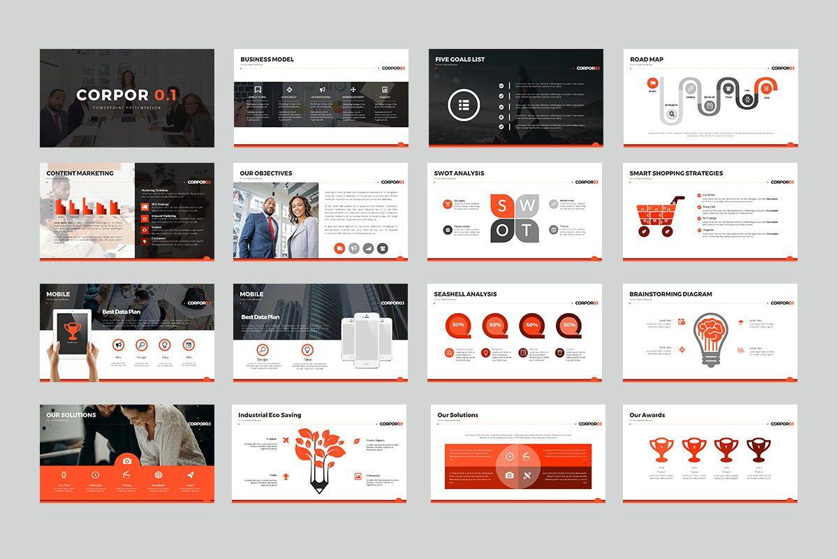 Corpor 0 1 Google Slide Templates, Slide 2, 07966, Business Models — PoweredTemplate.com