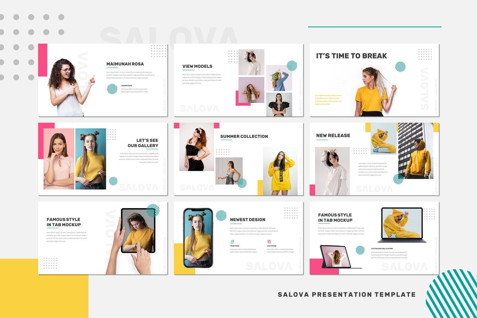 Salova - Google Slides Template, Slide 4, 07981, Presentation Templates — PoweredTemplate.com
