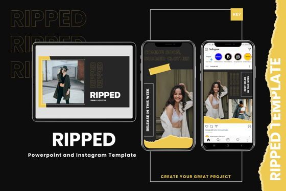 Presentation Templates: Riped - Keynote Template #07982
