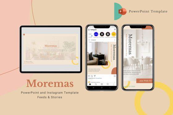 Presentation Templates: Moremas - Powerpoint Template #07988