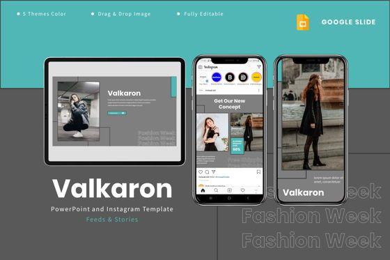 Presentation Templates: Valkaron - Google Slides Template #07991