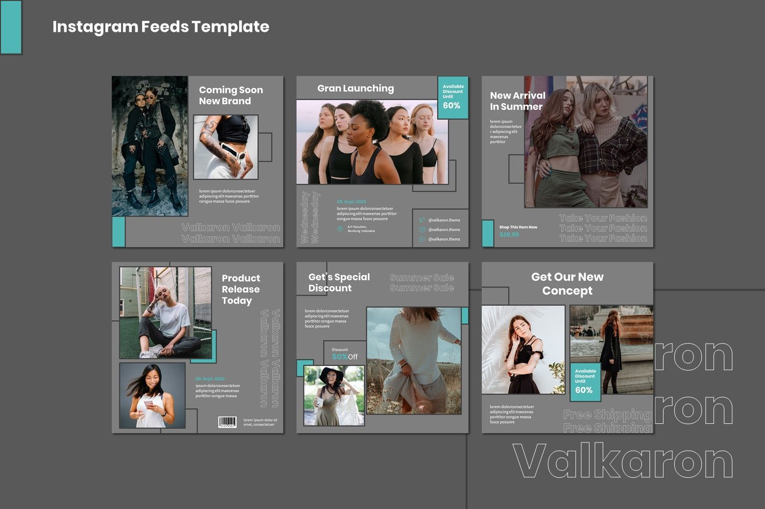 Valkaron - Google Slides Template, Slide 7, 07991, Presentation Templates — PoweredTemplate.com