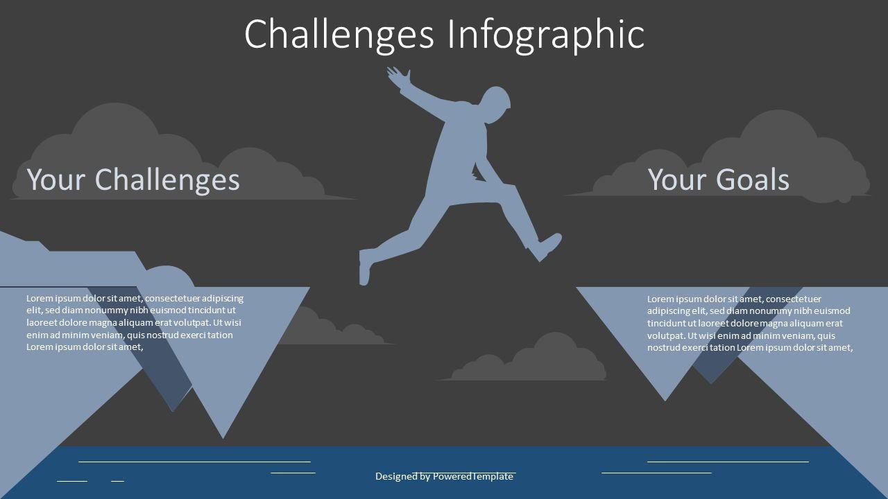 Challenge Concept Illustration, Slide 2, 07993, Presentation Templates — PoweredTemplate.com