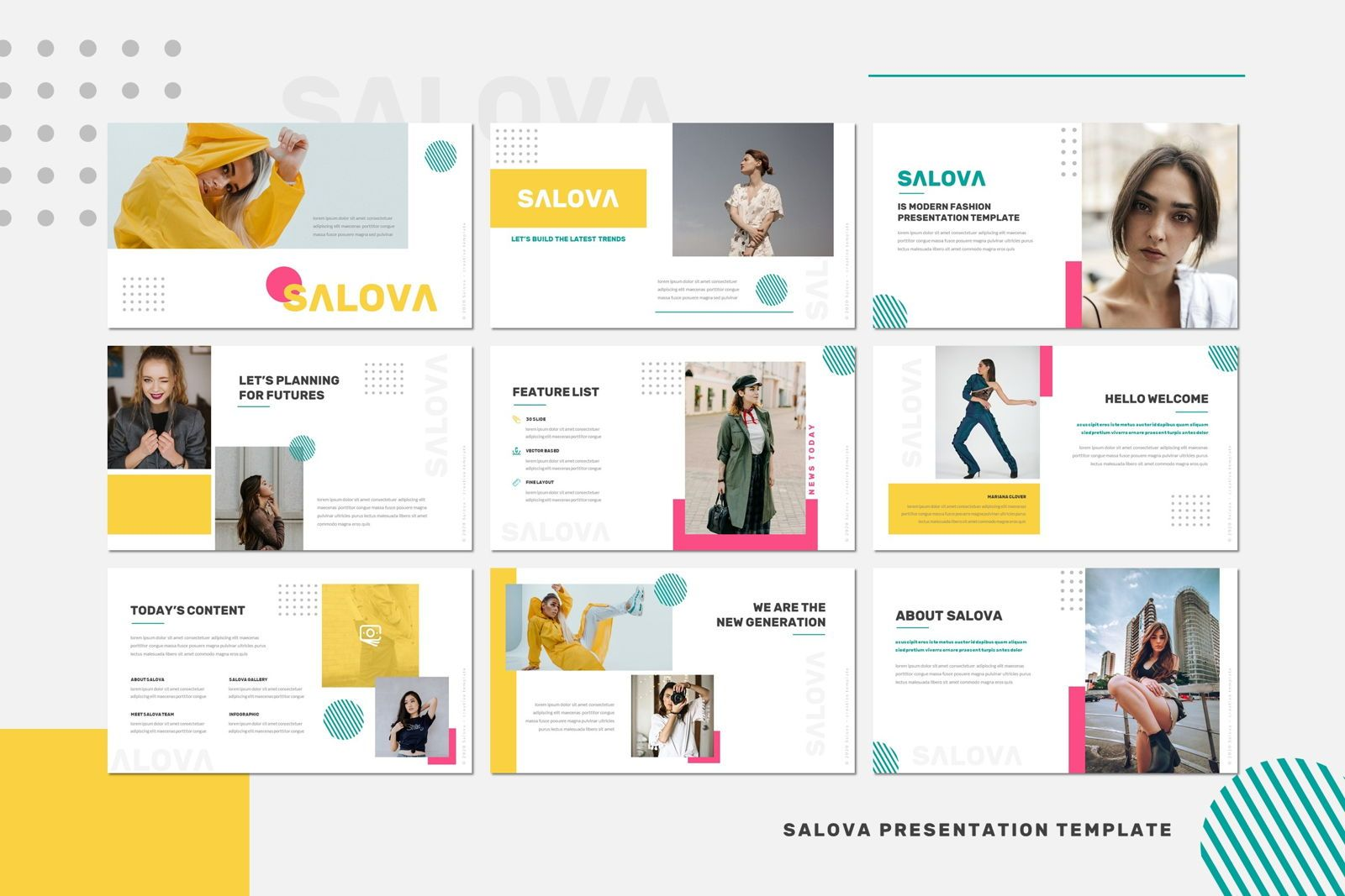Salova - Powerpoint Template, Slide 2, 07995, Presentation Templates — PoweredTemplate.com