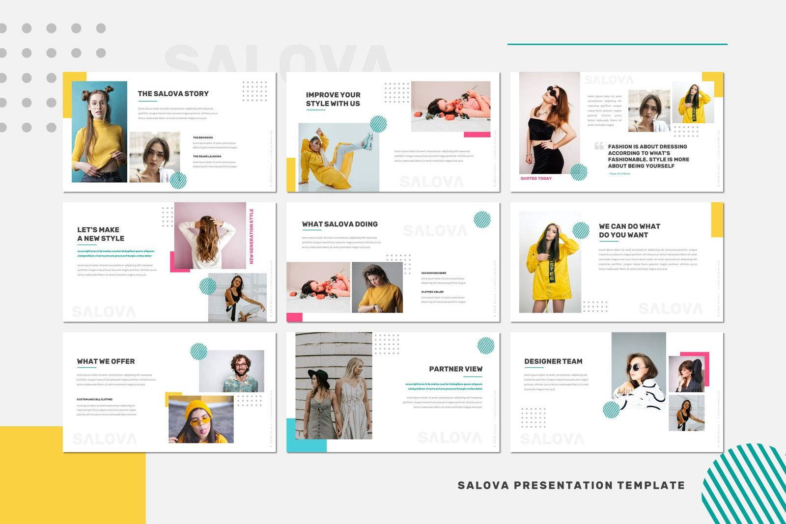 Salova - Powerpoint Template, Slide 3, 07995, Presentation Templates — PoweredTemplate.com
