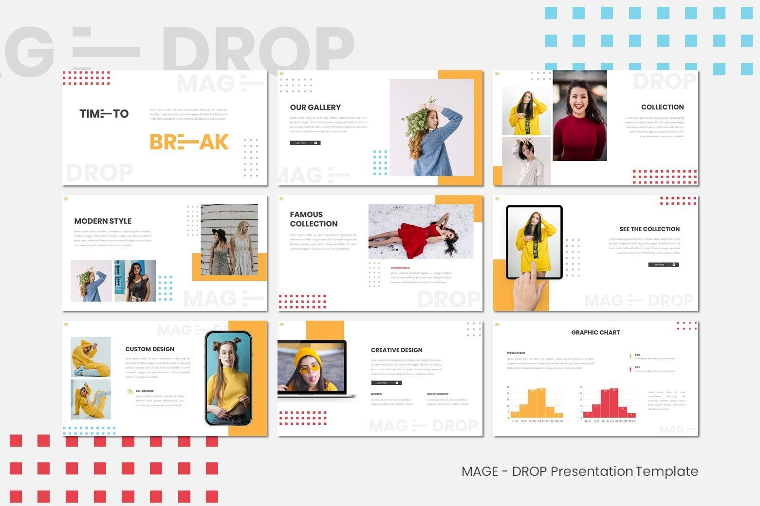 Mage Drop - Google Slides Template, Slide 4, 07997, Presentation Templates — PoweredTemplate.com