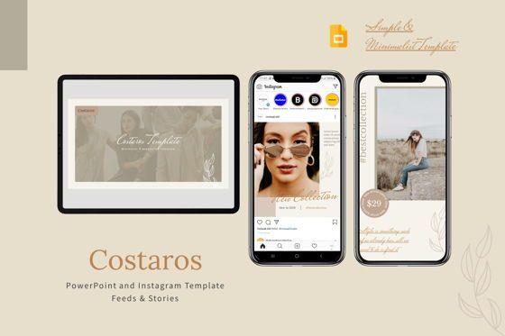 Presentation Templates: Costaros - Google Slides Template #07999