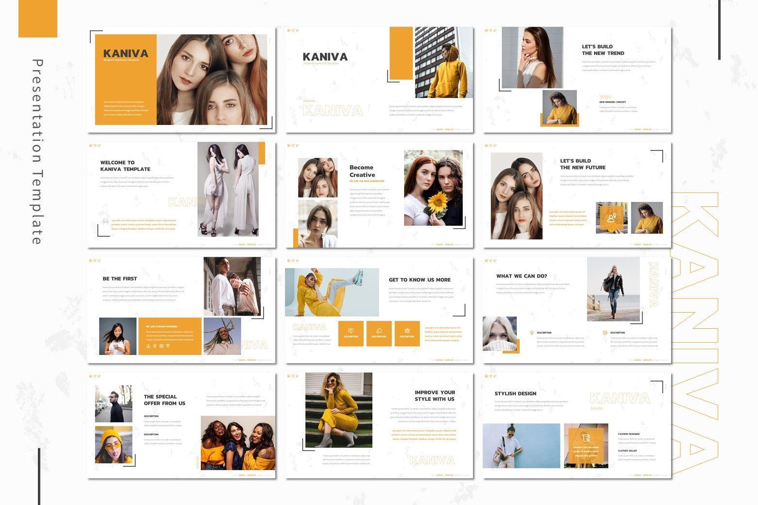 Kaniva - Powerpoint Template, Slide 2, 08001, Presentation Templates — PoweredTemplate.com