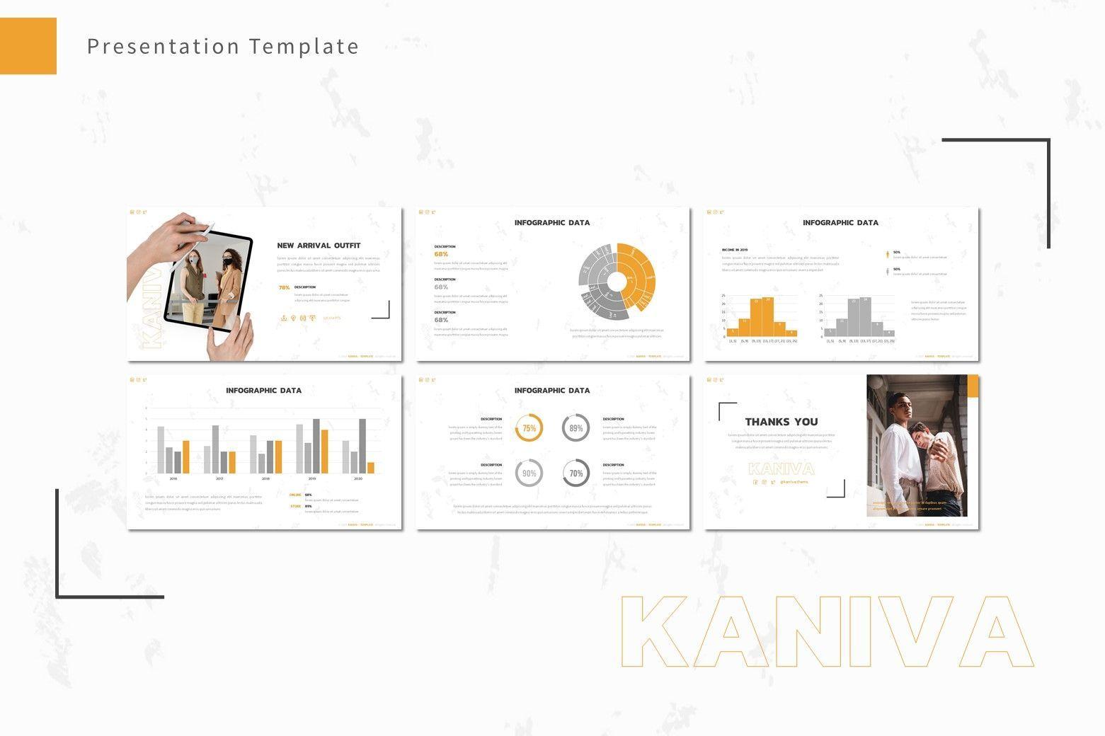Kaniva - Powerpoint Template, Slide 4, 08001, Presentation Templates — PoweredTemplate.com