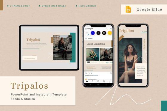 Presentation Templates: Tripalos - Google Slides Template #08004