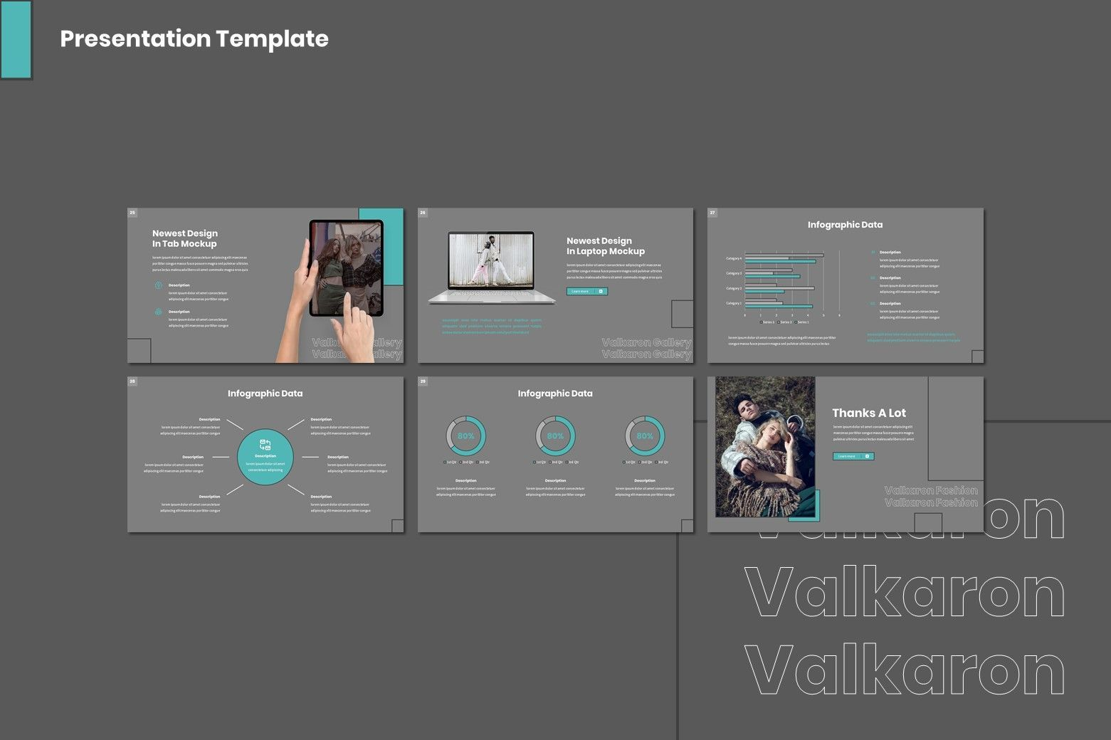 Valkaron - Powerpoint Template, Slide 3, 08005, Presentation Templates — PoweredTemplate.com