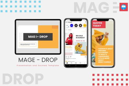 Presentation Templates: Mage Drop - Keynote Template #08012