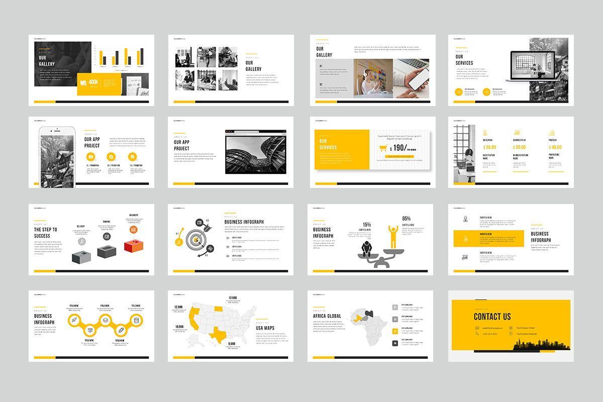 Modern Google Slide Templates, Slide 3, 08013, Business Models — PoweredTemplate.com