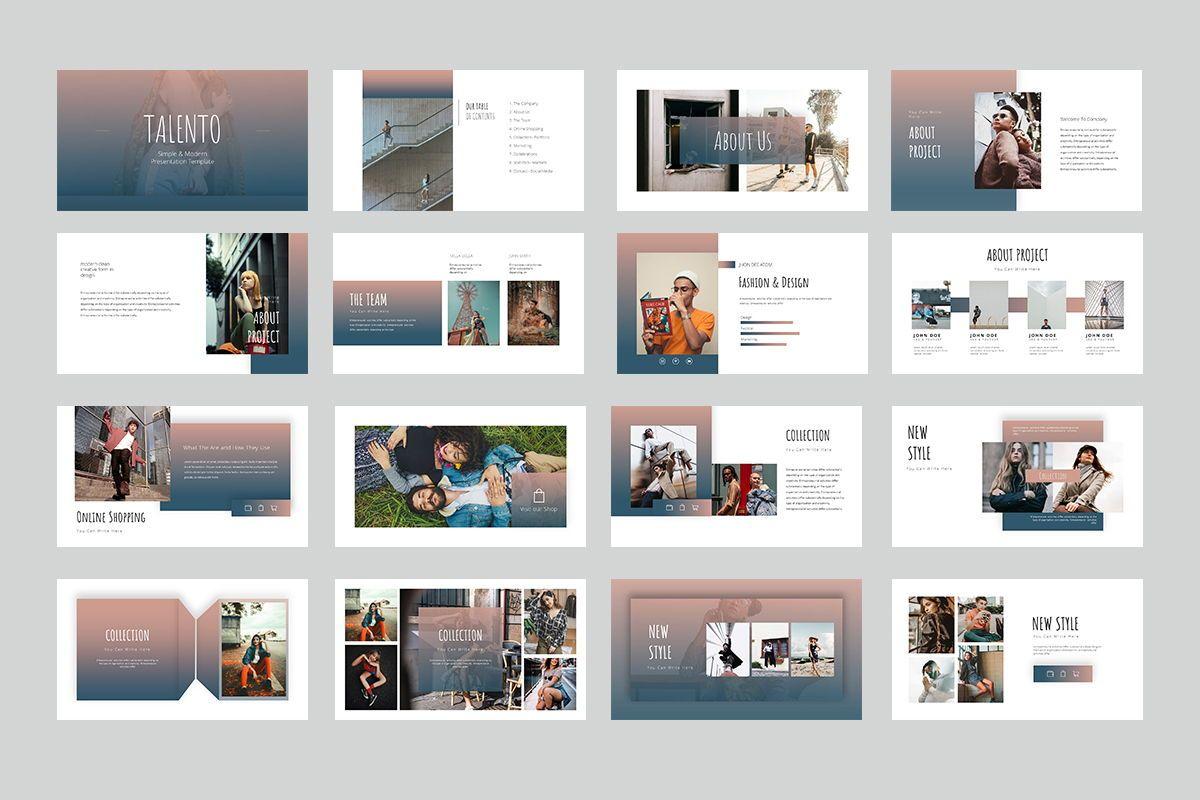 Talento Googleslide Templates, Slide 2, 08016, Business Models — PoweredTemplate.com