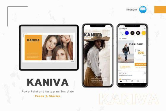 Presentation Templates: Kaniva - Keynote Template #08025