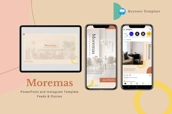 Presentation Templates: Moremas - Keynote Template #08026