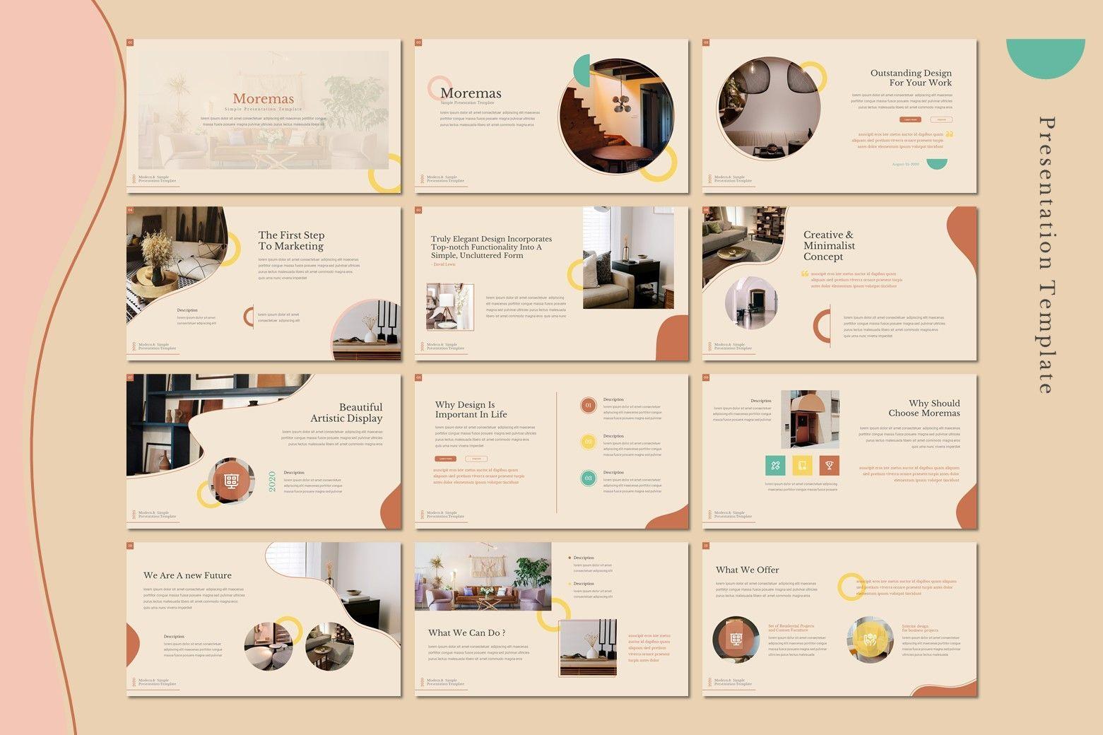Moremas - Keynote Template, Slide 2, 08026, Presentation Templates — PoweredTemplate.com