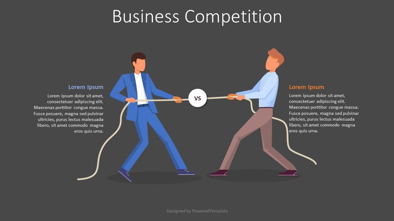 Business Competition Slide, Slide 2, 08028, Presentation Templates — PoweredTemplate.com