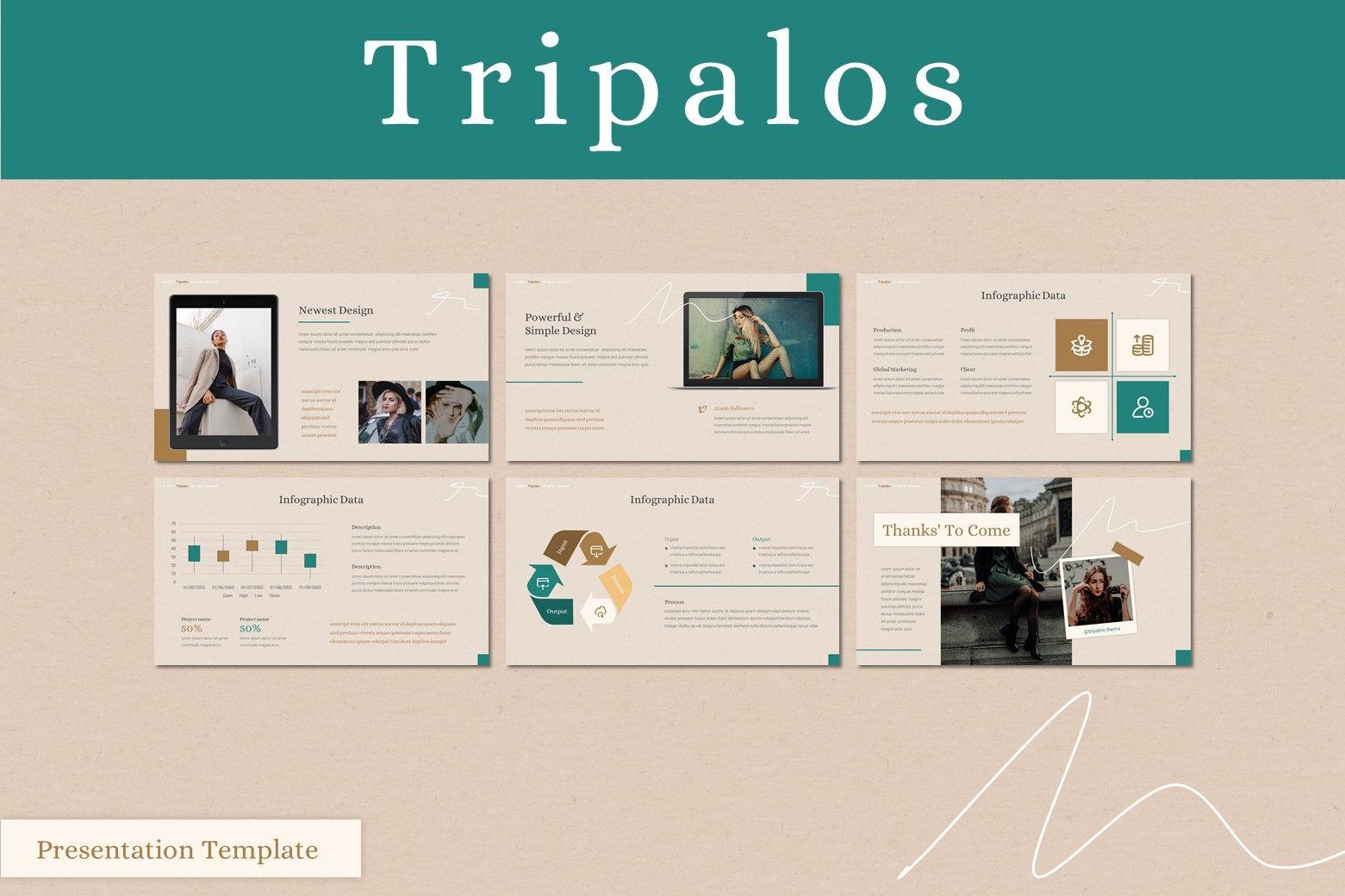 Tripalos - Keynote Template, Slide 4, 08038, Presentation Templates — PoweredTemplate.com