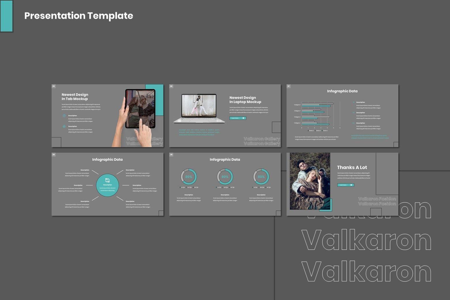 Valkaron - Keynote Template, Slide 4, 08039, Presentation Templates — PoweredTemplate.com