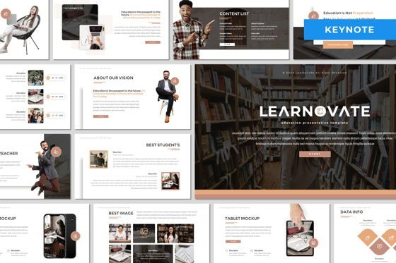 Presentation Templates: Learnovate - Keynote Template #08046