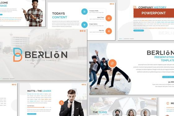 Presentation Templates: Berlion - Powerpoint Template #08049