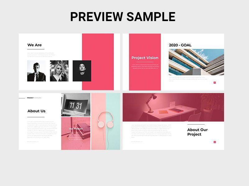 IKON Project Management Powerpoint Template, Slide 2, 08051, Presentation Templates — PoweredTemplate.com