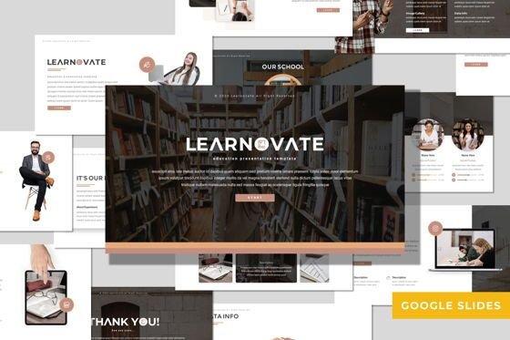 Presentation Templates: Learnovate - Google Slides Template #08056