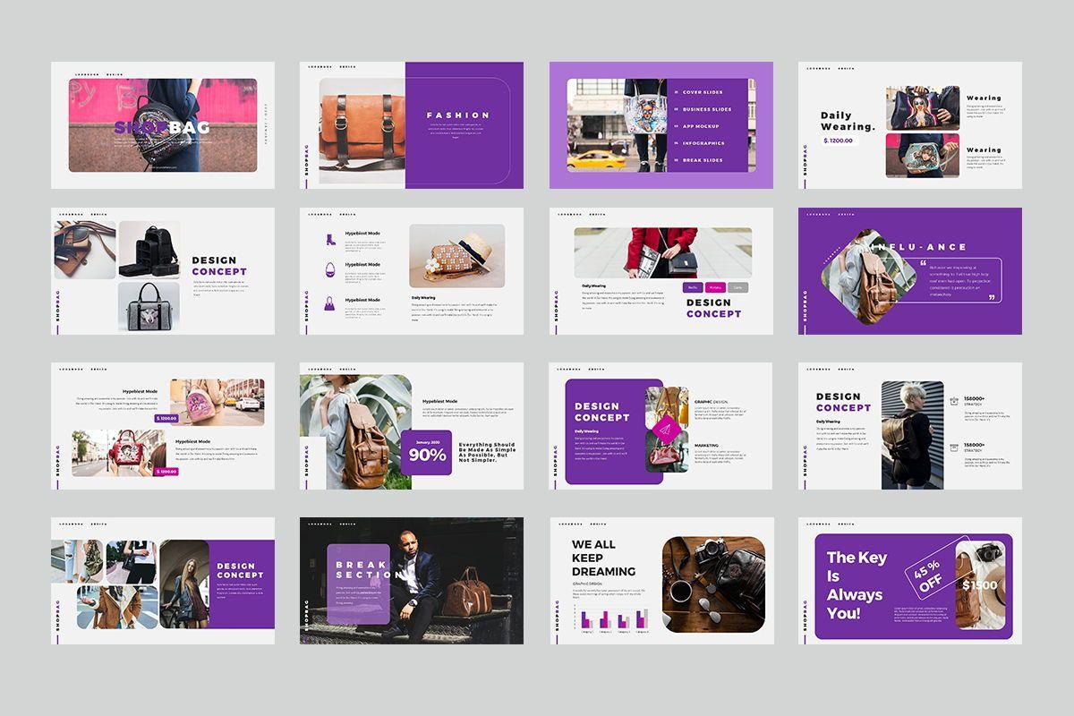 ShopBag Keynote Templates, Slide 2, 08064, Business Models — PoweredTemplate.com