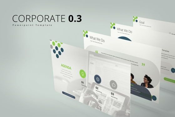 Business Models: Corporate 0 3 Google Slide Templates #08066