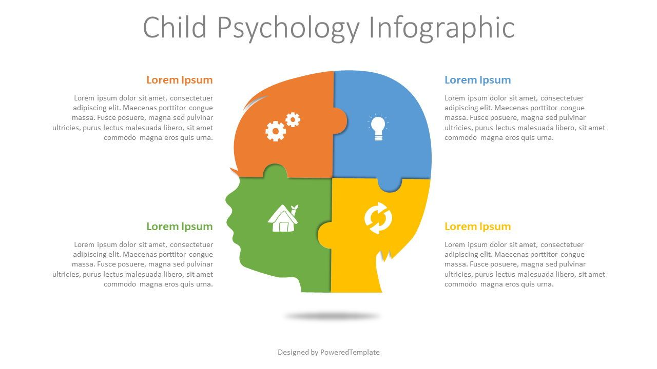 Child Psychology Infographic, Slide 2, 08068, Infographics — PoweredTemplate.com