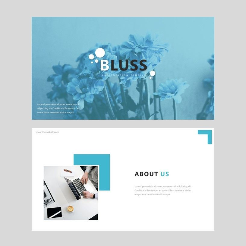 Bluss - PowerPoint Presentation Template, Slide 12, 08069, Presentation Templates — PoweredTemplate.com
