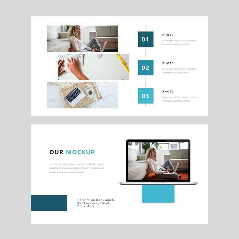 Bluss - PowerPoint Presentation Template, Slide 9, 08069, Presentation Templates — PoweredTemplate.com