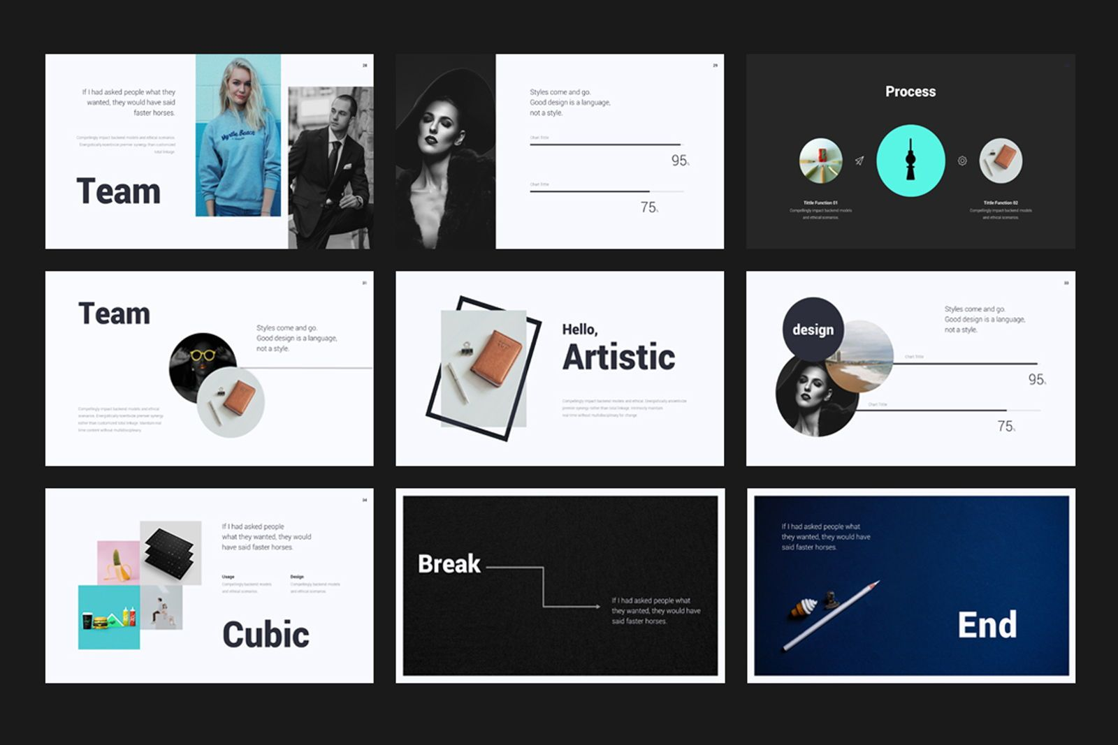 Creative Minimal Google Slide, Slide 5, 08070, Presentation Templates — PoweredTemplate.com