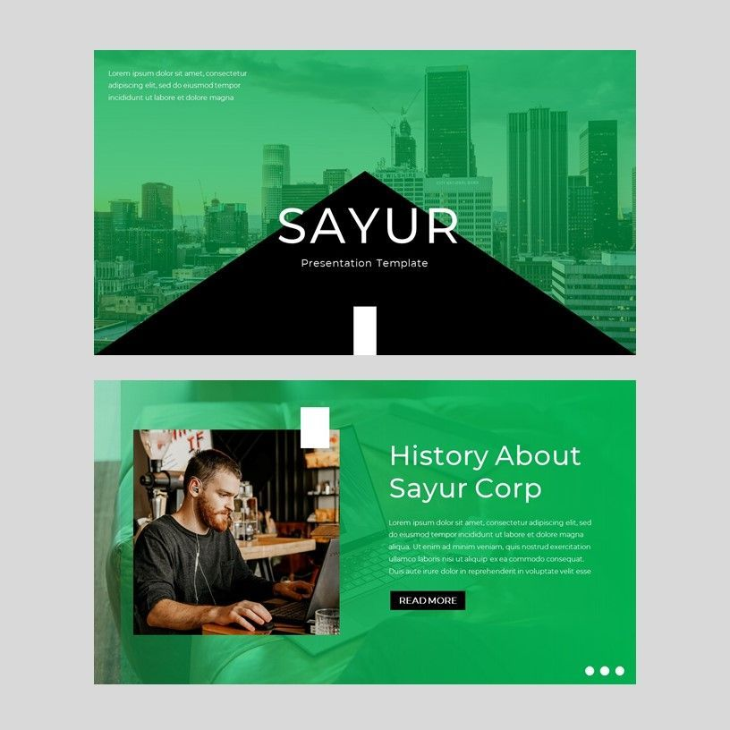 sayur - PowerPoint Presentation Template, Slide 2, 08073, Presentation Templates — PoweredTemplate.com