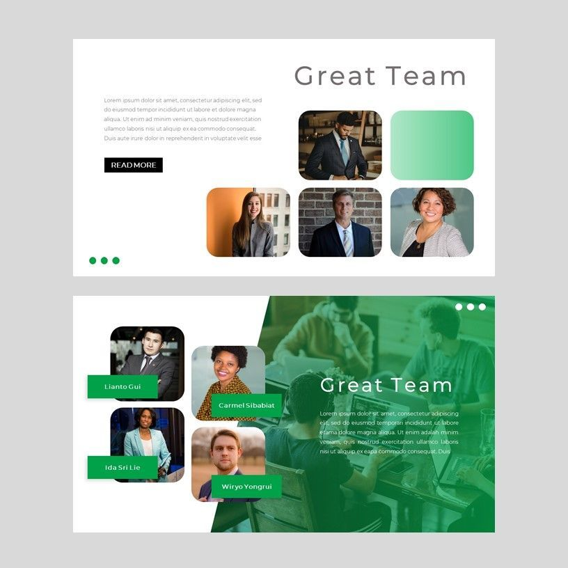 sayur - PowerPoint Presentation Template, Slide 6, 08073, Presentation Templates — PoweredTemplate.com