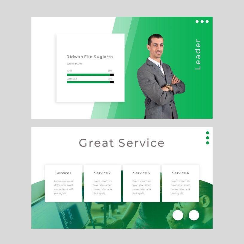 sayur - PowerPoint Presentation Template, Slide 7, 08073, Presentation Templates — PoweredTemplate.com