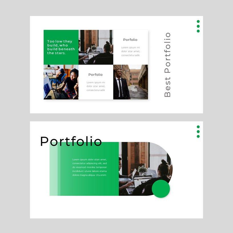 sayur - PowerPoint Presentation Template, Slide 9, 08073, Presentation Templates — PoweredTemplate.com