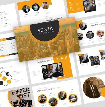 Presentation Templates: Senja - PowerPoint Presentation Template #08074