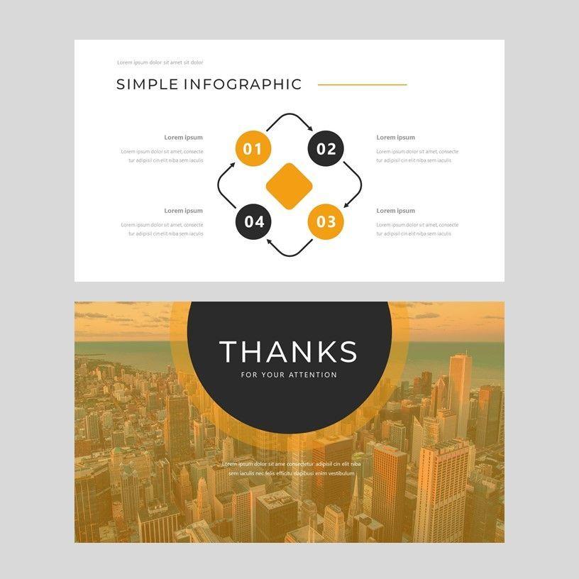 Senja - PowerPoint Presentation Template, Slide 10, 08074, Presentation Templates — PoweredTemplate.com