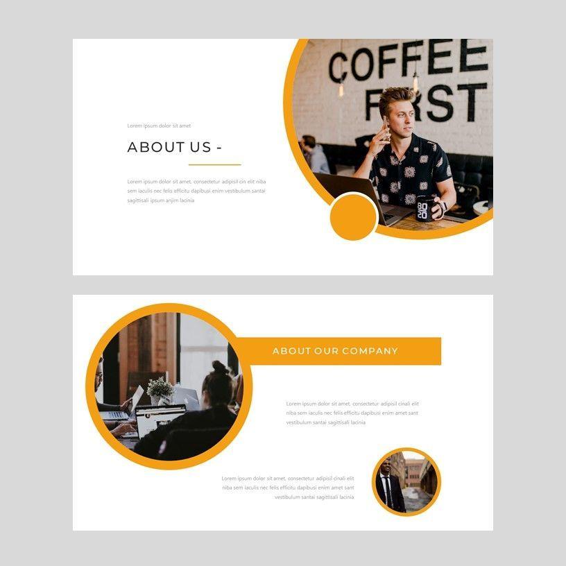 Senja - PowerPoint Presentation Template, Slide 11, 08074, Presentation Templates — PoweredTemplate.com
