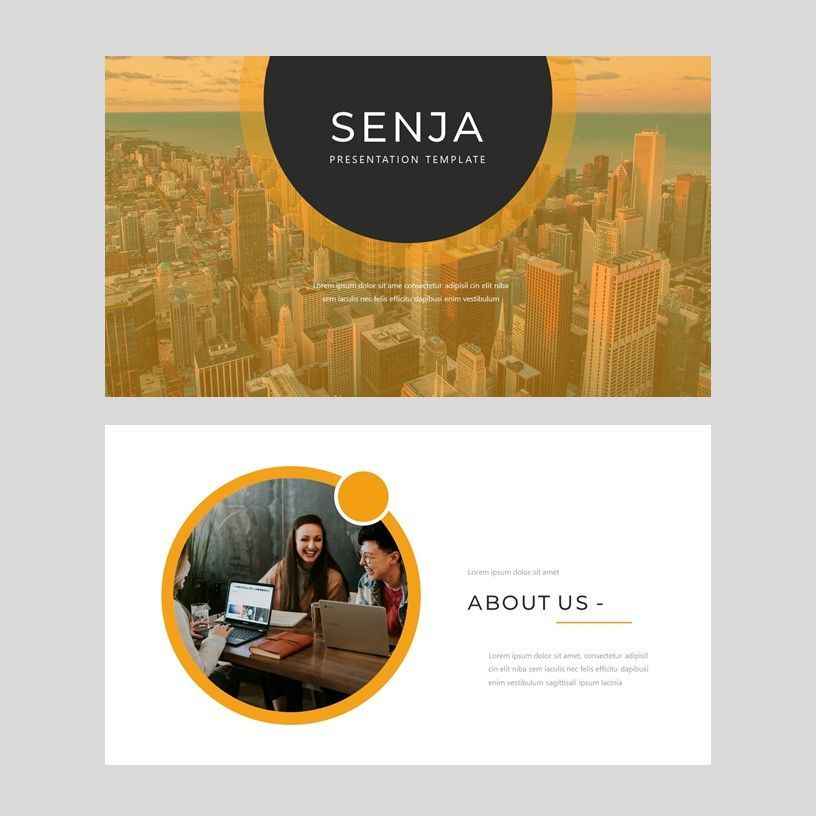 Senja - PowerPoint Presentation Template, Slide 2, 08074, Presentation Templates — PoweredTemplate.com