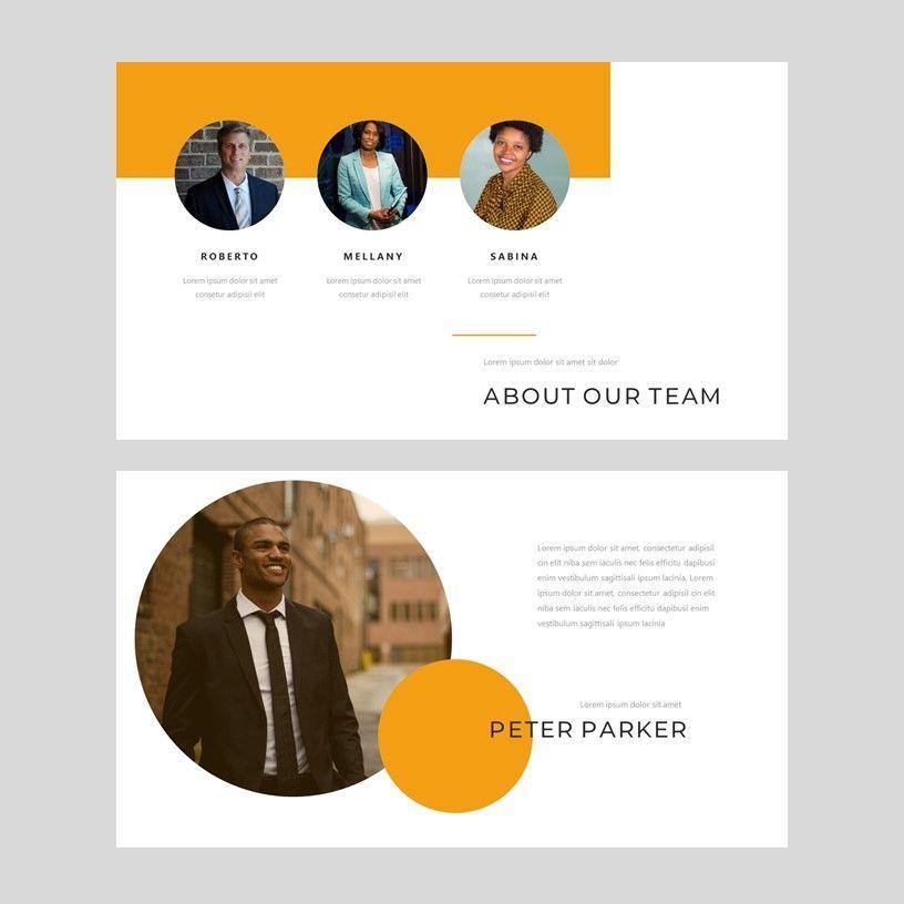 Senja - PowerPoint Presentation Template, Slide 3, 08074, Presentation Templates — PoweredTemplate.com