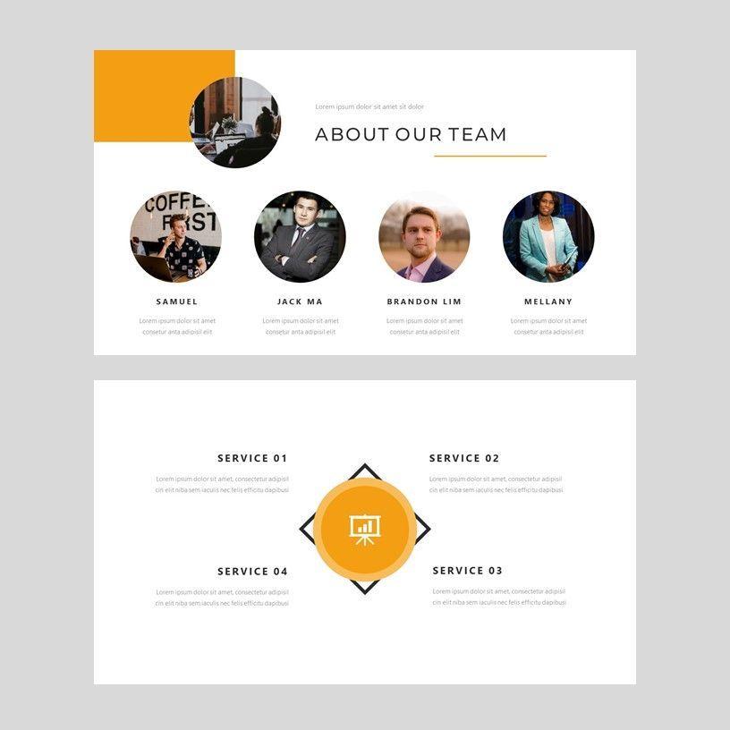 Senja - PowerPoint Presentation Template, Slide 4, 08074, Presentation Templates — PoweredTemplate.com