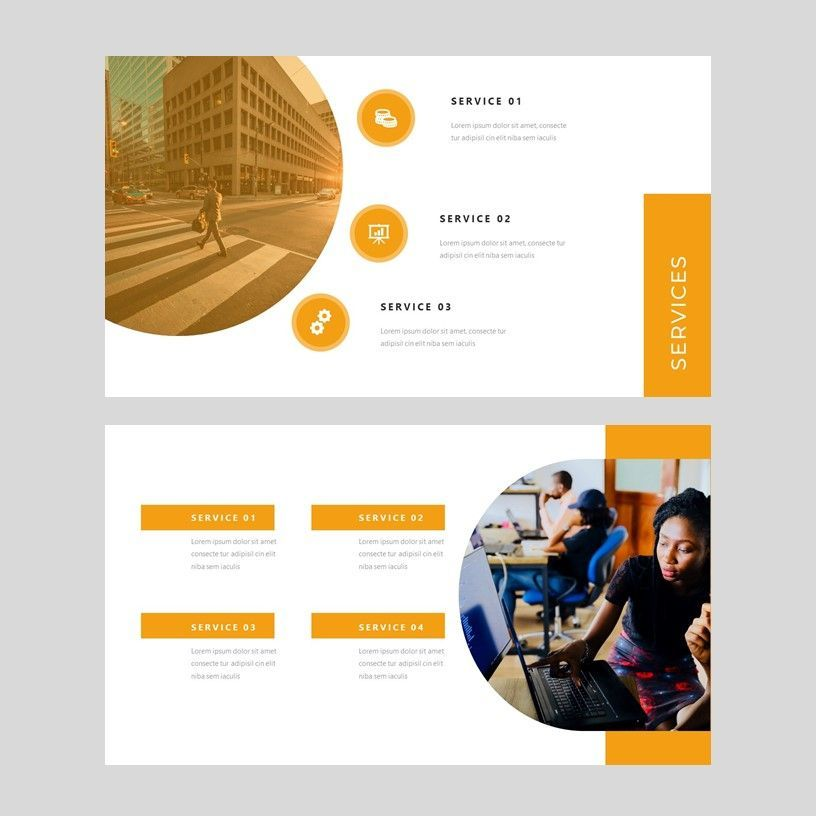 Senja - PowerPoint Presentation Template, Slide 5, 08074, Presentation Templates — PoweredTemplate.com