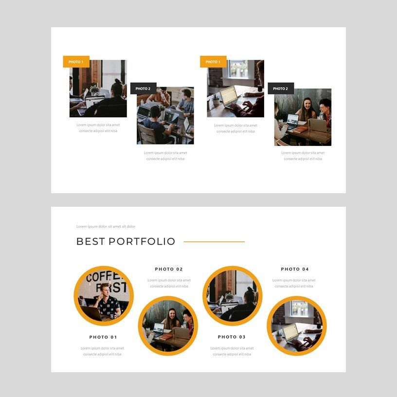 Senja - PowerPoint Presentation Template, Slide 6, 08074, Presentation Templates — PoweredTemplate.com