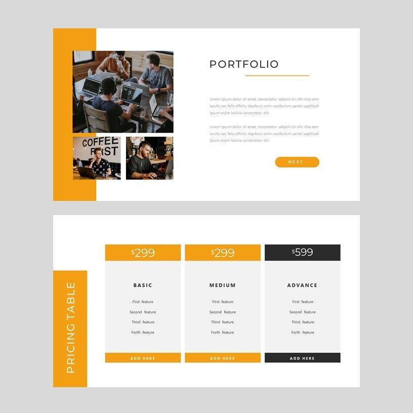 Senja - PowerPoint Presentation Template, Slide 7, 08074, Presentation Templates — PoweredTemplate.com