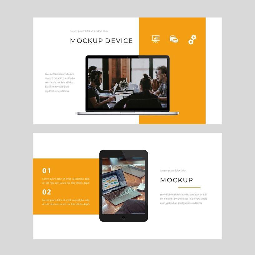 Senja - PowerPoint Presentation Template, Slide 8, 08074, Presentation Templates — PoweredTemplate.com