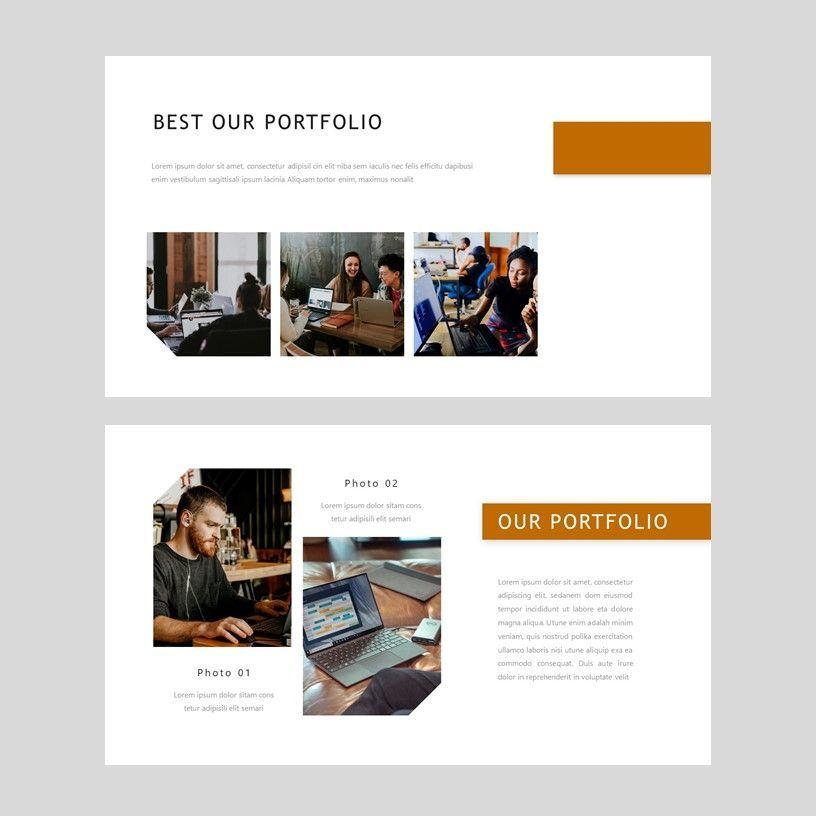 D'cash - Google Slide Presentation Template, Slide 6, 08075, Presentation Templates — PoweredTemplate.com